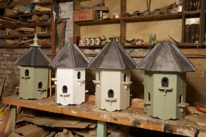 Dovecotes in a variety of finishes.