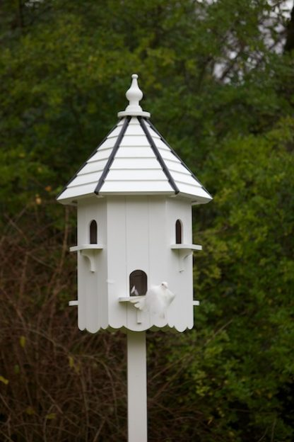 Buckingham Dovecote with dove in flight