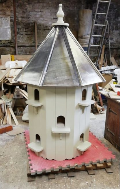 Lead Roof Richmond Dovecote built in our workshop.